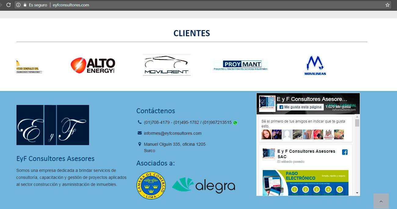 página web consulotres asesores lima peru